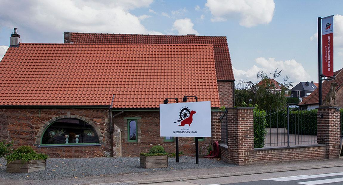 ZOTTEGEM-WINKELCENTRUM-HANDELAAR-Restaurant-in-de-groene-hond